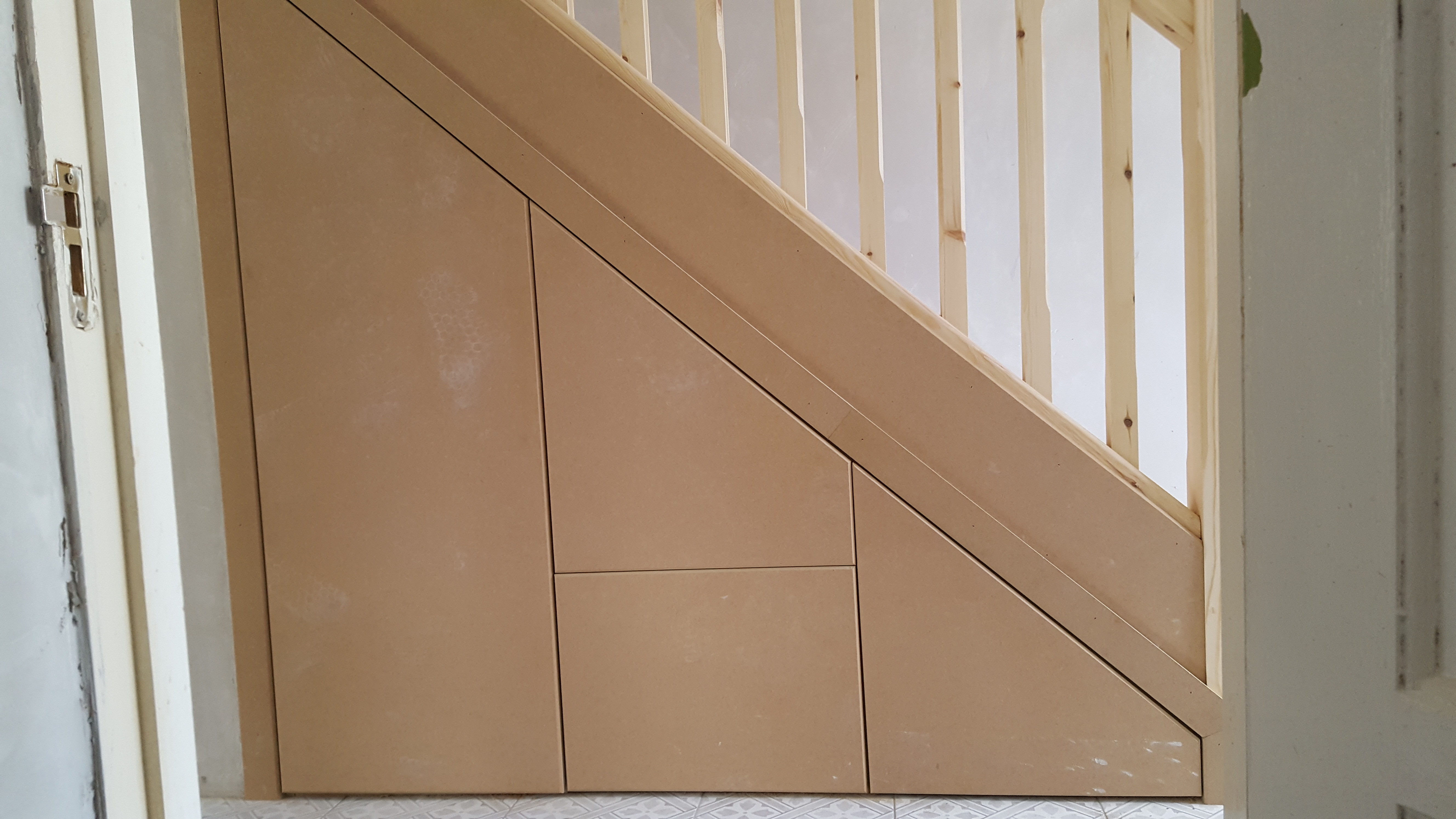 Maximise the space under your stairs by turning your awkward understair space into an easy-to-access storage facility. Each unit is customised to suit each ... & Understair storage \u2013 SMD Carpentry